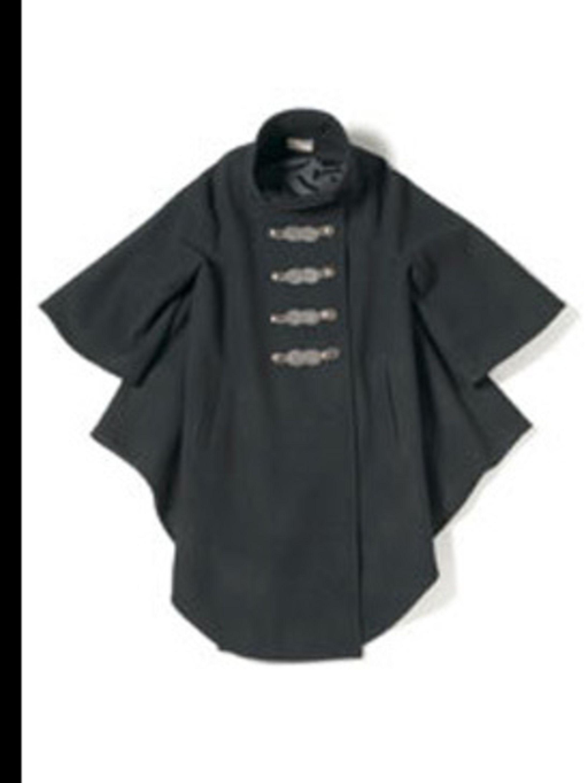 "<p>Cape coat, £508.00 by <a href=""http://www.elizabethandjames.us/"">Elizabeth and James</a>  </p>"