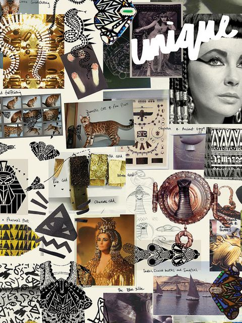 <p>Unique S/S '12 mood board.</p>