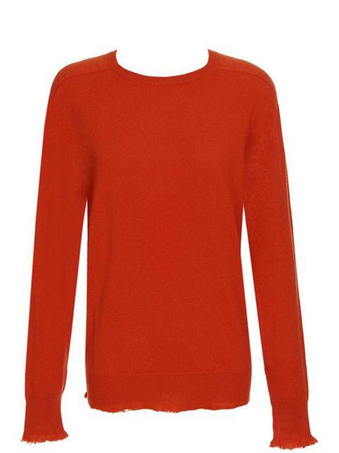 "<p>Bottega Veneta raw edge sweater, £805, at <a href=""http://www.brownsfashion.com/Product/Women/Women/Clothing/Knitwear/Cashmere_jumper/Product.aspx?p=3146967&amp;pc=1949756&amp;cl=4"">Browns Fashion</a></p>"