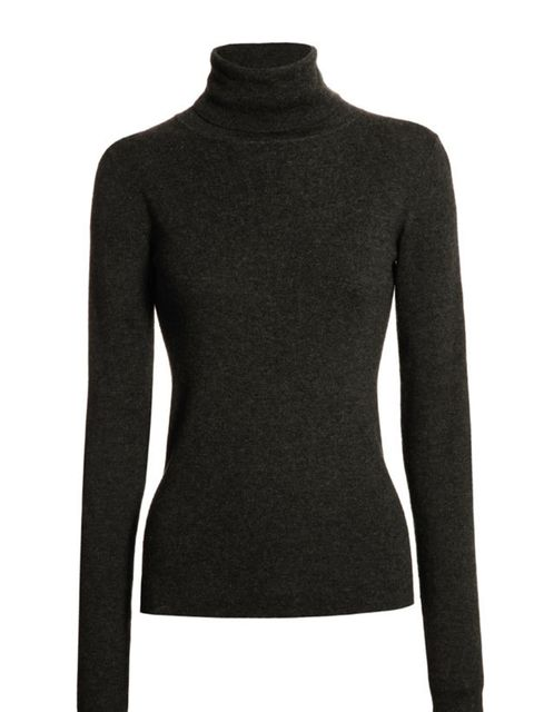 <p>Nicole Farhi classic roll neck jumper, £190, for stockists call 0207 499 8368</p>