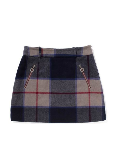 "<p>Combining the talent of one of our favourite designers with the modish aesthetic of Fred Perry, this skirt's an instant winner… <a href=""http://www.fredperry.com/laurel-wreath-collection/women/richard-nicoll/"">Fred Perry by Richard Nicoll</a> check ski"