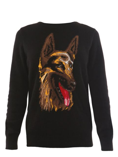 "<p>Balenciaga 'The Dog Sweater', £525, at <a href=""http://www.matchesfashion.com/fcp/product/Matches-Fashion/womens_balenciaga/balenciaga-BAL-B-273089-T1183-knitwear-BLACK/51661"">Matches Fashion</a></p>"