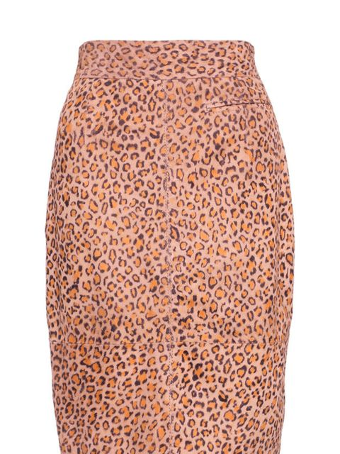 """<p><a href=""""http://www.whistles.co.uk/fcp/categorylist/dept/shop?resetFilters=true"""">Whistles</a> leopard print pencil skirt, £225</p>"""