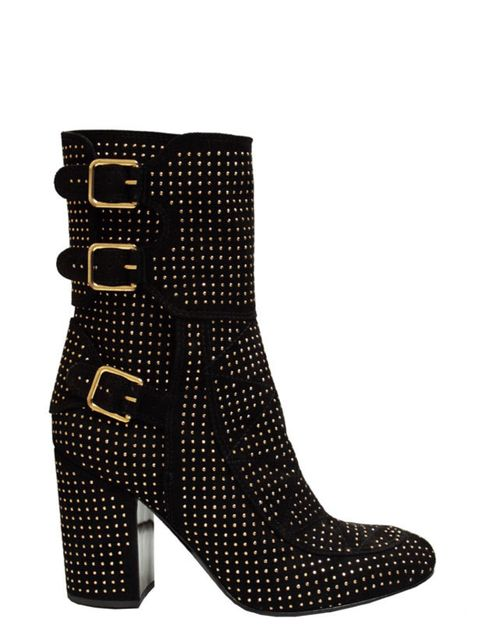 """<p>Laurence Dacade 'Merli' gold studded suede boots, £820, at <a href=""""http://www.brownsfashion.com/Product/Women/Women/Clothing/Autumn_Boots/Merli_studded_suede_boots/Product.aspx?p=670600&amp&#x3B;pc=3386777&amp&#x3B;cl=4"""">Browns</a></p>"""