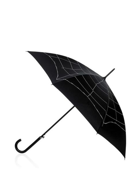 """<p><a href=""""http://www.luluguinness.com/ProductPage.aspx?productId=UMBR-723-275-010"""">Lulu Guinness</a> spiders web umbrella, £40</p>"""