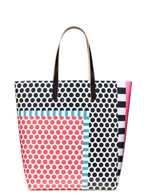 "<p><a href=""http://www.marni.com/"">Marni</a> polka dot printed tote, £166</p>"