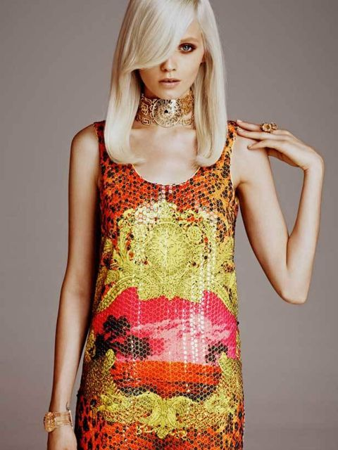 "<p>Abbey Lee Kershaw models in the <a href=""http://www.elleuk.com/catwalk/collections/versace/"">Versace</a> for <a href=""http://www.elleuk.com/content/search?SearchText=h%26m&SearchButton=Search"">H&M</a> campaign</p>"