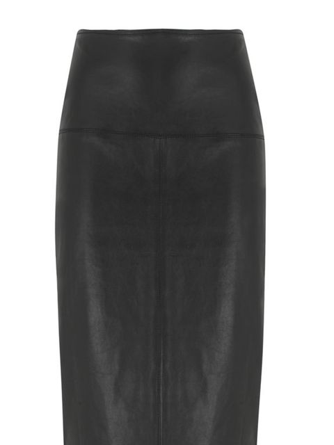 """<p>It's time to release your inner vamp and sex up your wardrobe for autumn with a bang-on-trend leather pencil skirt... <a href=""""http://www.marksandspencer.com/Autograph-Exclusive-Leather-Panelled-Pencil/dp/B005I01SJ4"""">Marks & Spencer</a> leather pen"""