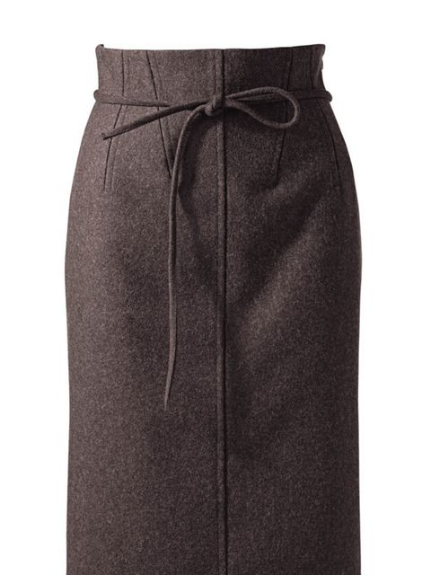 <p>Uniqlo +J pencil skirt, £39.90, for stockists call 0207 290 8090</p>