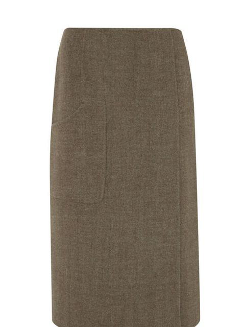 <p>Hoss Intropia pencil skirt, £190.50, for stockists call 0207 287 3569</p>