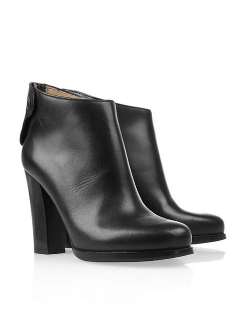 "<p>Jil Sander ankle boots, £445, at <a href=""http://www.net-a-porter.com/product/162533"">Net-a-Porter</a></p>"