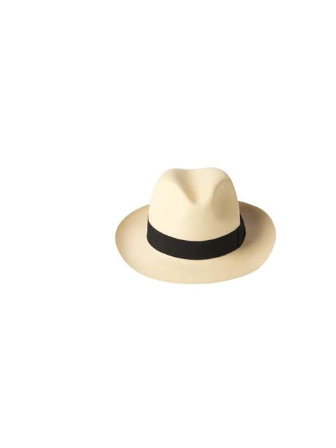 "<p>A panama hat is versatile enough to wear with all of your festival outfits... which is lucky, as you'll need it to hide messy hair a few days in! My Bob hat, £120 at <a href=""https://www.beachflamingo.com/my-bob-semi-bleached-classic-fedora/?Auth=52558"