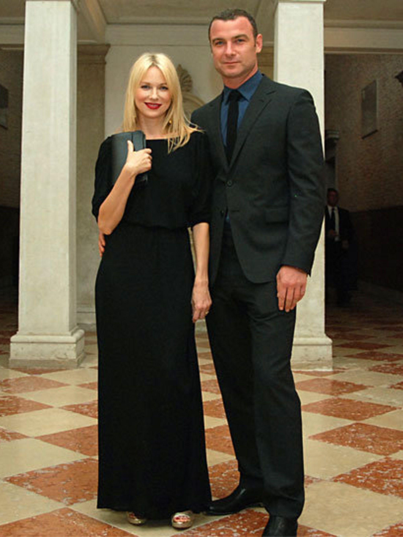 <p>Naomi Watts and Leiv Schreiber</p>