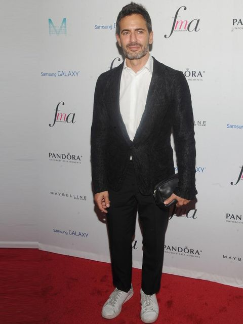 <p>Marc Jacobs at the Fashion Media Awards, New York, September 2013.</p>