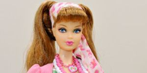 <p>This year Barbie is celebrating 50 years of being a fashion icon - in New York her show will feature creations from 50 designers all finished with off with Barbie inspired Christian Louboutins, while another 50 accessory designers have created doll-ins