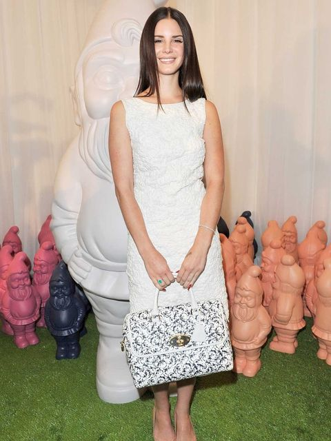<p>Lana Del Rey will be holding a Twitter Q&A with Mulberry on Wednesday</p>