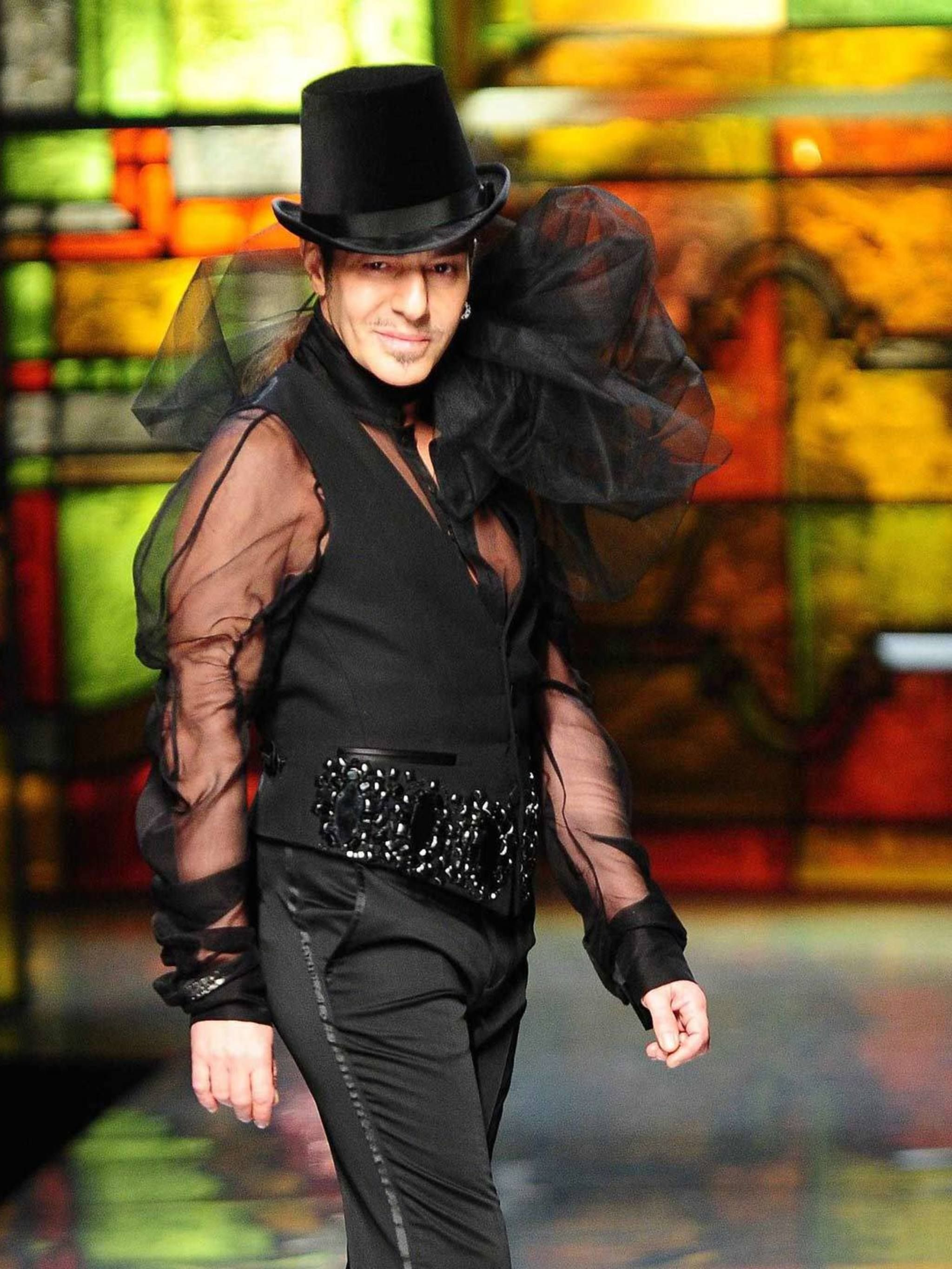 Galliano john interview in vanity fair forecast to wear for autumn in 2019