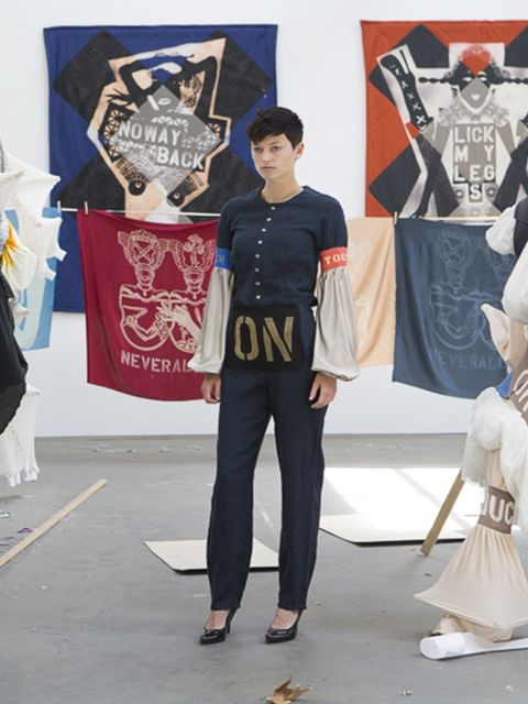 "<p>Brand new work by Lara Schnitger, renowned Dutch-born sculptor, painter and textile artist, will be exhibited at <a href=""http://www.modernart.net/"">Modern Art</a> from Friday. Schnitger's signature works, which focus o"