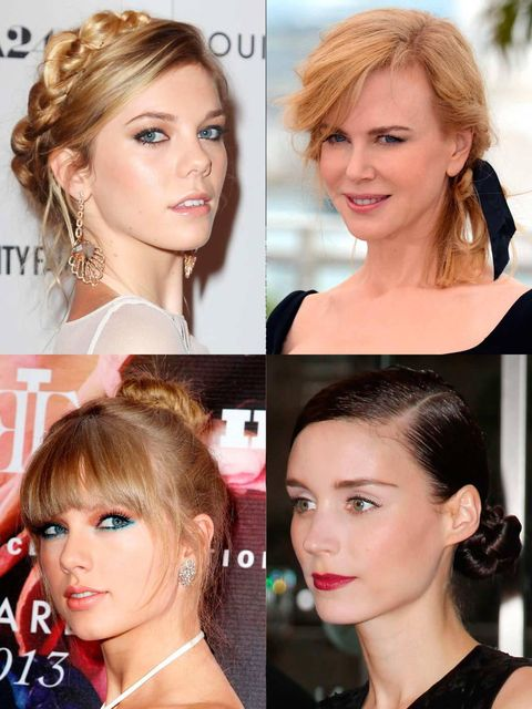 """<p>A classic summer <a href=""""http://www.elleuk.com/beauty/hair/hair-trends/easy-up-dos"""">up do</a>: party appropriate, neck refreshing (should the sun come out and stay out) and a <a href=""""http://www.elleuk.com/star-style/celebrity-beauty/celeb-hair/emma-w"""