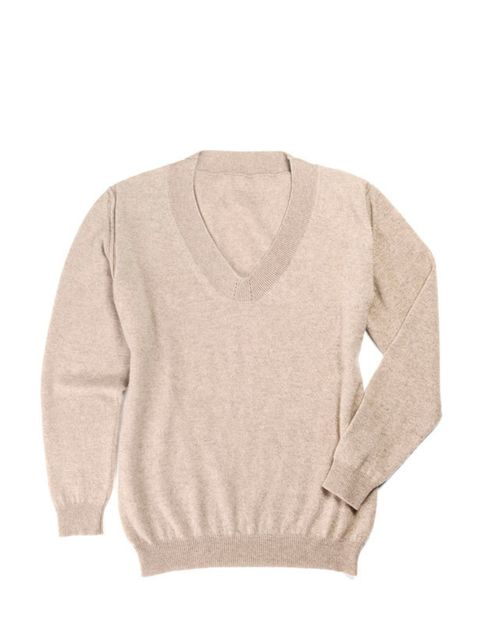 """<p>Nothing beats cashmere in winter, so may we introduce Muriee. You may not be familiar with the brand, but believe us, it's super soft and pure luxury… <a href=""""http://www.muriee.com/"""">Muriee</a> cashmere V neck sweater, £165</p>"""