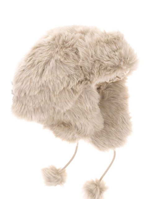 <p>Marks & Spencer faux fur trapper hat, £19.50, for stockists call 0845 302 1234</p>