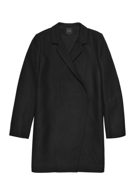 <p>Cos wool coat, £150, for stockists call 0207 478 0400</p>