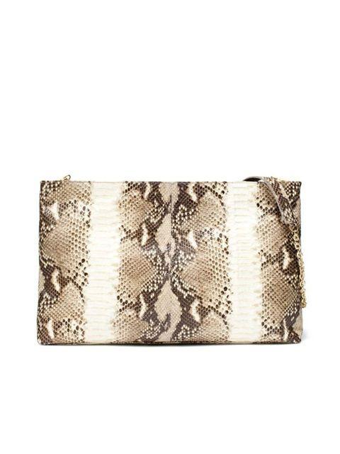 "<p><a href=""http://www.zara.com/webapp/wcs/stores/servlet/product/uk/en/zara-W2011/118156/493056/LARGE%2BSNAKESKIN%2BCLUTCH%2BBAG"">Zara</a> snakeskin clutch, £99.99</p>"