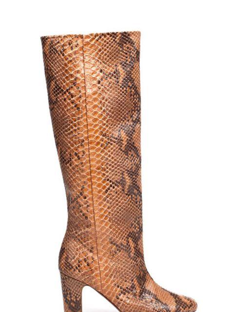 "<p><a href=""http://www.zara.com/webapp/wcs/stores/servlet/product/uk/en/zara-W2011/118155/468517/SNAKE%2BSKIN%2BWIDE%2BHEEL%2BBOOT"">Zara</a> snakeskin boots, £129</p>"