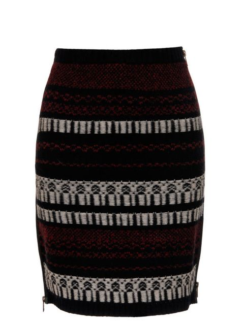 """<p>Edun sweater skirt, £180, at <a href=""""http://www.brownsfashion.com/Product/Women/Women/Clothing/Skirts/Wool_and_cashmere-blend_sweater_skirt/Product.aspx?p=3211111&amp&#x3B;pc=1949753&amp&#x3B;cl=4"""">Browns Fashion</a></p>"""