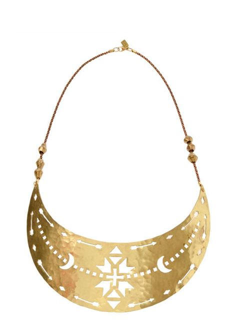 """<p>Pamela Love brass breastplate, £395, at <a href=""""http://www.brownsfashion.com/Product/Women/Women/Accessories/Fashion_Jewellery/Brass_Navajo_breastplate/Product.aspx?p=3216292&amp&#x3B;pc=1949746&amp&#x3B;cl=4"""">Browns Fashion</a></p>"""