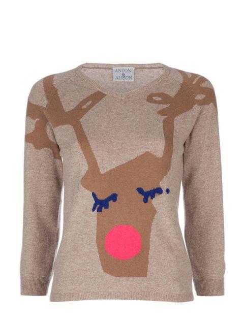 """<p>Antoni & Alison reindeer jumper, £181, at <a href=""""http://www.farfetch.com/"""">Farfetch</a></p>"""