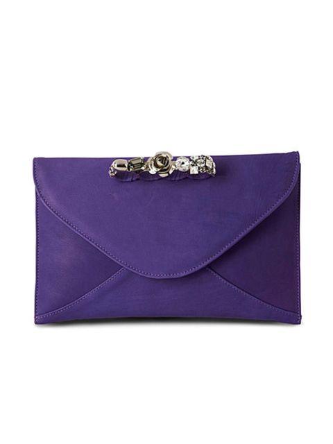 """<p>Maison Du Posh embellished clutch, £445, at <a href=""""http://www.selfridges.com/en/Accessories/Categories/Handbags/Clutch-evening/Embellished-clutch_485-3002096-5ALXE1/"""">Selfridges</a></p>"""