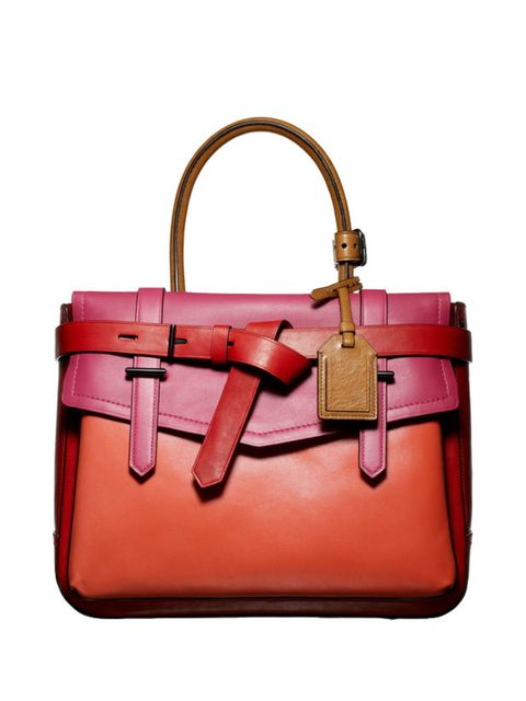 <p>Reed Krakoff belted fold-over bag, £839, at Harrods, for stockists call 0207 893 8984</p>
