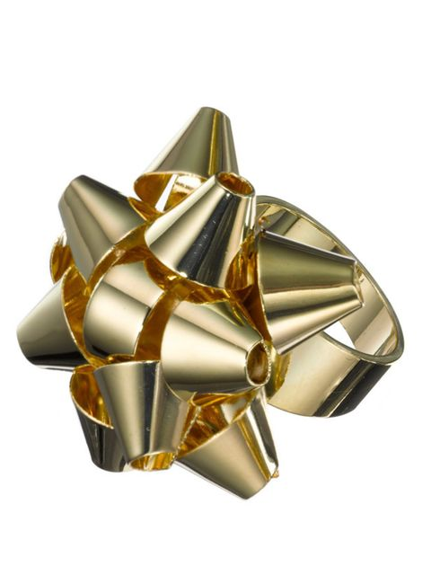 """<p>A gift-wrap style bow on a ring? It might be the perfect stocking filler but we're keeping this little beauty to ourselves… <a href=""""http://www.whistles.co.uk/fcp/categorylist/dept/shop?resetFilters=true"""">Whistles</a> bow ring, £18</p>"""