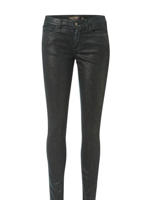 "<p>Paige metallic effect jeans, £295, at <a href=""http://www.donnaida.com/paige-premium-denim-verdugo-skinny-jean-komodo-1.html"">Donna Ida</a></p>"