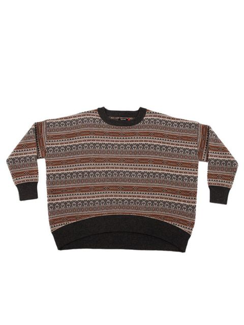 """<p>You can't go wrong with a statement knit this season and this Wood Wood style is perfect for teaming with tailored wool trousers and brogues… Wood Wood patterned sweater, £167, at <a href=""""http://goodhoodstore.com/?page=51&amp&#x3B;id=2784&amp&#x3B;type=womens"""">"""