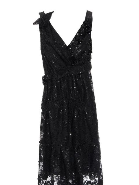 """<p>Nina Ricci hand-embellished dress, £3,360, at <a href=""""http://www.brownsfashion.com/Product/Women/Women/Clothing/Dresses/Silk_mesh_dress_with_intricate_hand-embellishment/Product.aspx?p=3235410&amp;pc=1949762&amp;cl=4"""">Browns Fashion</a></p>"""