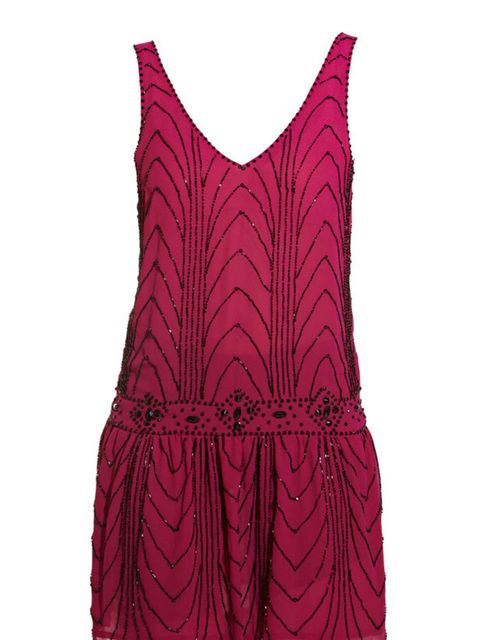 """<p><a href=""""http://www.newlook.com/shop/womens/dresses/beaded-flapper-dress_232858578?productFind=search"""">New Look</a> beaded flapper dress, £59.99</p>"""