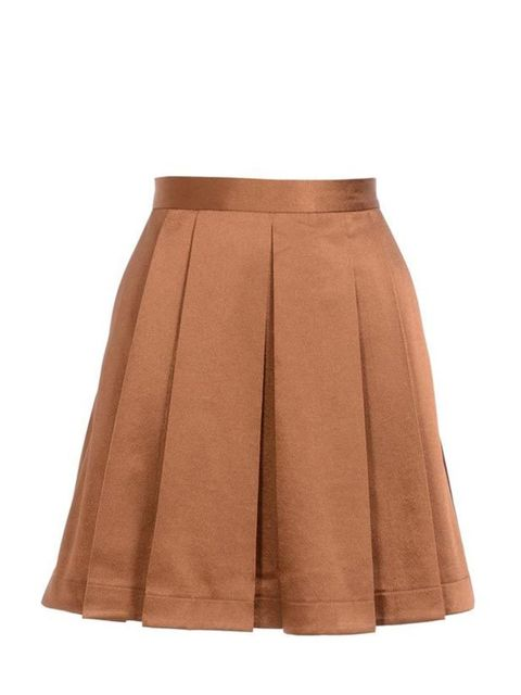 """<p>Taking you from office to party, this luxe pleated skirt is a timeless staple… Club Monaco satin skirt, £170, at <a href=""""http://www.brownsfashion.com/Product/Pleated_satin_skirt/Product.aspx?p=3509279"""">Browns</a> </p>"""