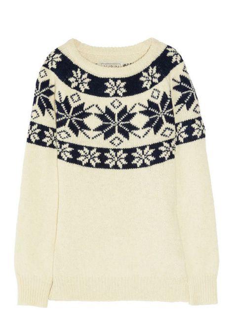 """<p>Aubin & Wills festive sweater, £165, at <a href=""""http://www.net-a-porter.com/product/186456"""">Net-a-Porter</a></p>"""