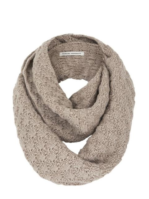 <p>Banana Republic snood, £29.99, for stockists call 0207 758 3550</p>