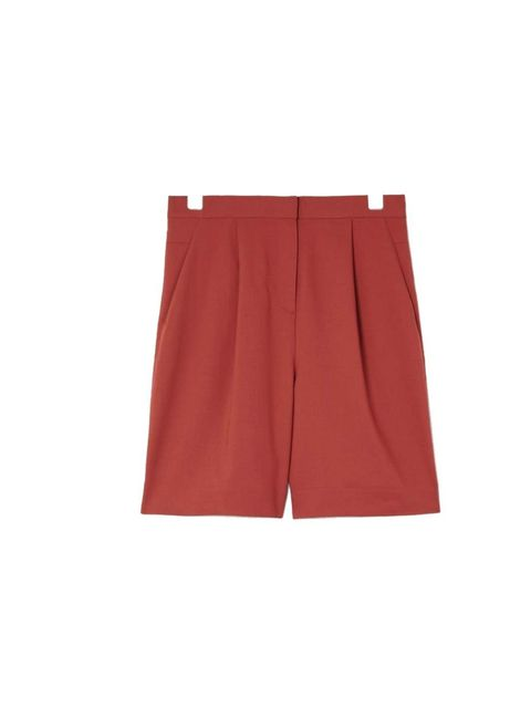 """<p>These terracotta culottes will look great with a tan&#x3B; just add a white vest and a pair of tan sandals for laid-back summer holiday style.</p><p><a href=""""http://www.cosstores.com/Shop/Women/New/Wide-leg_culottes/365246-7427562.1"""">COS</a> shorts, £59</p>"""