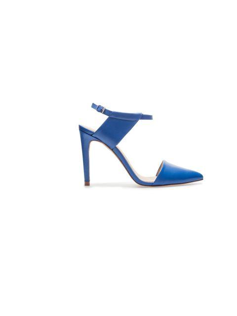 "<p>Shoe, £55, from <a href=""http://www.zara.com"">Zara</a></p>"