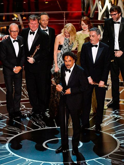 <p>&#39&#x3B;Birdman&#39&#x3B; wins the Best Picture Award at the 2015 Academy Awards.</p>