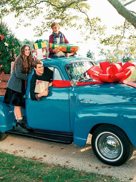 Bruce Weber photographed the Lands' End AW15 holiday campaign