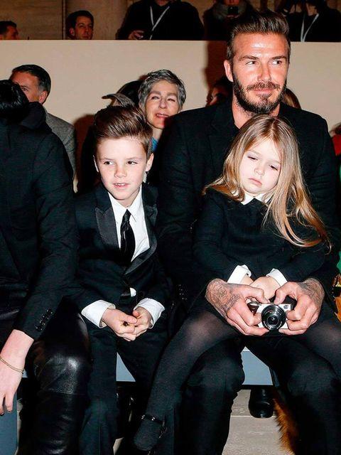 Harper Beckham at Victoria Beckham AW15