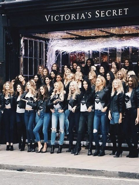 Karlie Kloss @karliekloss The @VictoriasSecret Angels have landed at the New Bond Street store  #regram from @tommyton
