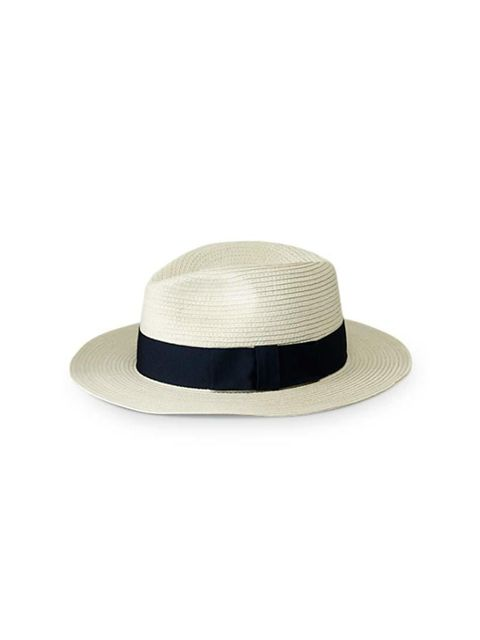 """<p>Good for pretending to be on safari - when you're actually just watching your cat stalk a bumble bee in the back garden.</p>  <p><a href=""""http://www.filippa-k.com/en/woman/beachwear/paper-straw-hat"""" target=""""_blank"""">Filippa K</a> hat, £75</p>"""