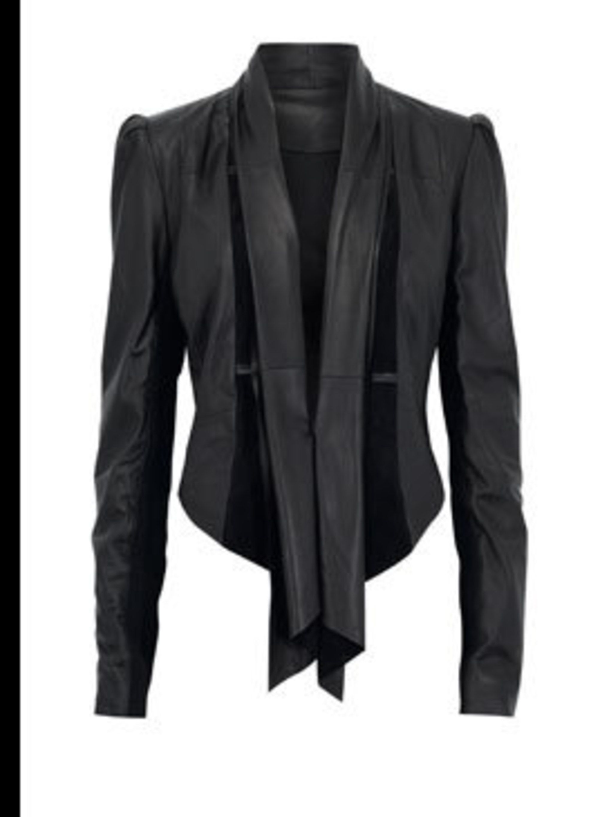 <p>The Leather Jacket, £149, by Marks & Spencer (0845 302 1234)</p>