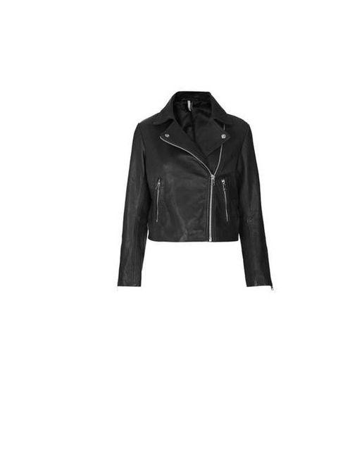 "<p>Topshop, £185, <a href=""http://www.topshop.com/webapp/wcs/stores/servlet/ProductDisplay?catalogId=33057&storeId=12556&productId=11990236&langId=-1"">Boxy Leather Jacket</a></p>"